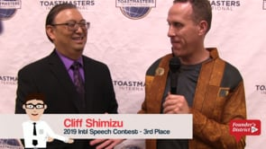 2019 Intl Speech Contest – 3rd Place