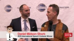2019 Intl Speech Contest Winner