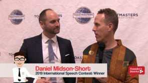 2019 Intl Speech Contest Winner