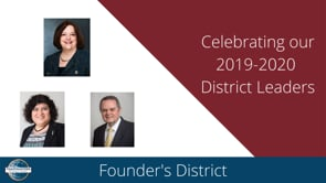 District Awards – 2019-2020