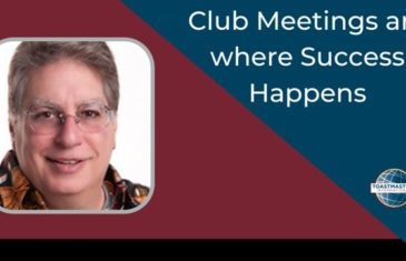 Club Meetings Are Where Success Happens